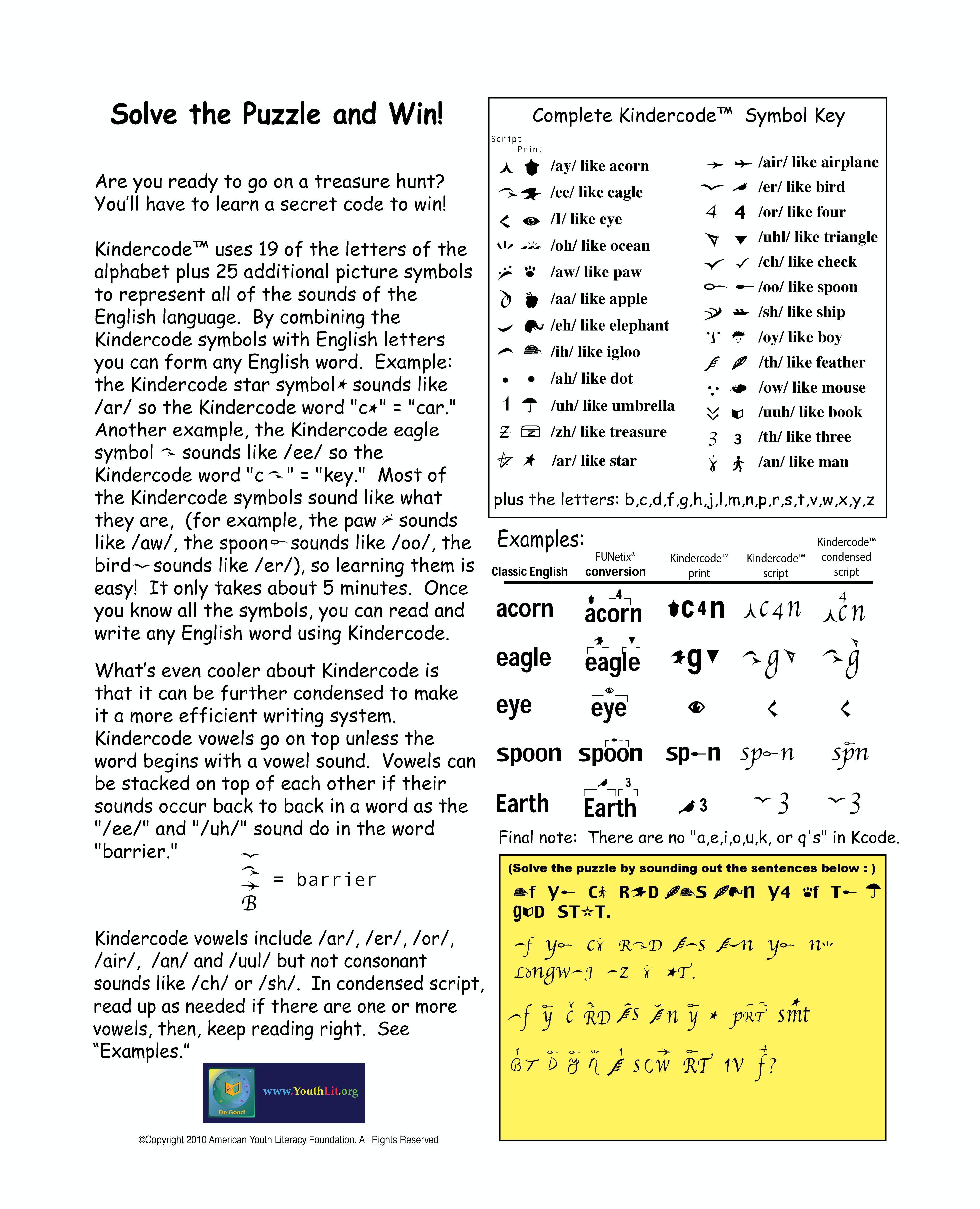 kindercode puzzle